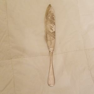 RARE Vintage Alaskan Hand Engraved Fish Knife